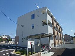 栃木県小山市城東7丁目の賃貸アパートの外観