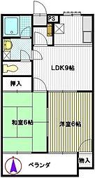 マンション欅[1階]の間取り