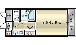 EASYBOX千里山東[2階]の間取り