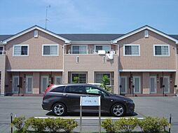 静岡県袋井市愛野東1丁目の賃貸アパートの外観