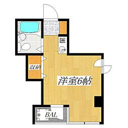 駒込MSビル[4階]の間取り