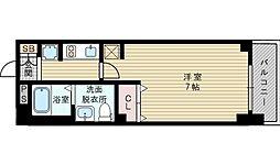 エステムコート新大阪Xザ・ゲート[4階]の間取り