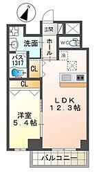 泉北高速鉄道 和泉中央駅 徒歩7分の賃貸マンション 1階1LDKの間取り