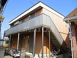 神奈川県川崎市多摩区菅野戸呂の賃貸アパートの外観