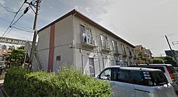 神奈川県海老名市中新田2丁目の賃貸アパートの外観