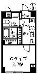 リバージュ弘明寺[3階]の間取り