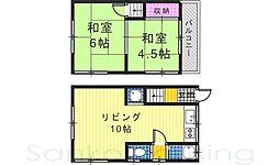 [テラスハウス] 大阪府堺市西区北条町1丁 の賃貸【/】の間取り