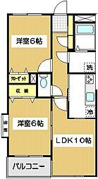 ステータスヒル狛江[203号室]の間取り