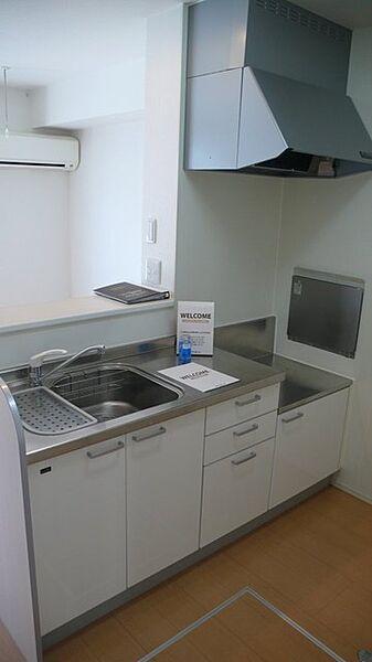 ミッシェルの収納たっぷりのキッチン 対面キッチン