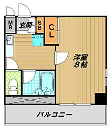 CASA K−1[2階]の間取り