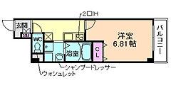 みおつくし江戸堀[7階]の間取り