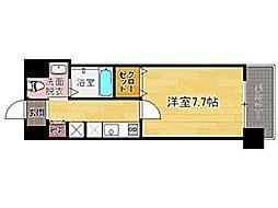 アクタス六本松タワー[4階]の間取り