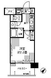 アルテーヌ新横浜[7階]の間取り