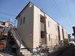 東京都葛飾区鎌倉2丁目の賃貸アパートの外観