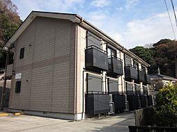 神奈川県横浜市磯子区岡村4丁目の賃貸アパートの外観