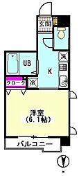 江川ホームズ[304号室]の間取り