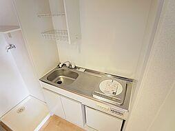 グランディール須磨の人気のIHコンロ。ミニ冷蔵庫付です