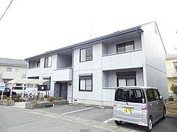 滋賀県守山市吉身6丁目の賃貸アパートの外観