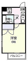 シロタビル[4階]の間取り