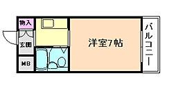 OAK Beer福島[4階]の間取り