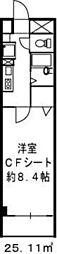 ドミール江戸堀[9階]の間取り