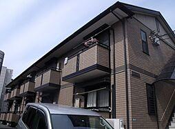 東京都練馬区中村北1丁目の賃貸アパートの外観