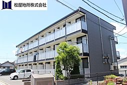 愛知県豊川市美園3丁目の賃貸アパートの外観