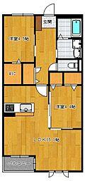 仮)野芥4丁目新築オートロック付アパート[103号室]の間取り