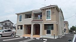 茨城県下妻市下妻乙の賃貸アパートの外観