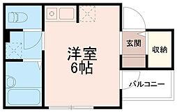 くまさんハウス[2階]の間取り