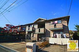千葉県市川市中国分5丁目の賃貸アパートの外観