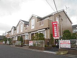 埼玉県三郷市早稲田8丁目の賃貸アパートの外観