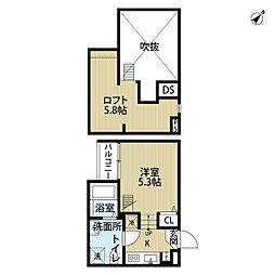リエートハウス天台[1階]の間取り