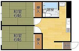 藤田アパート[A号室]の間取り