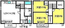 [テラスハウス] 埼玉県さいたま市大宮区櫛引町1丁目 の賃貸【/】の間取り