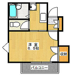ファインゼム[2階]の間取り
