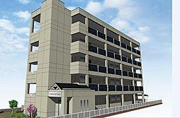 仮 国立谷保新築マンション[1階]の外観