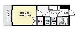 パークコート箱崎II[106号室]の間取り