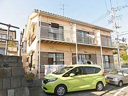 神奈川県海老名市上今泉6の賃貸アパートの外観