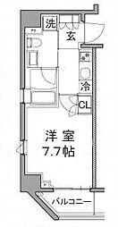 プラウドフラット浅草橋III[6階]の間取り