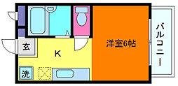 芦屋セレーノ[3階]の間取り