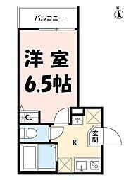 アークレス武蔵浦和[3階]の間取り