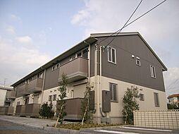 大阪府箕面市西小路5丁目の賃貸アパートの外観