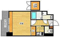 エステート・モア・平尾駅前通り[6階]の間取り