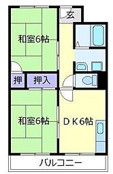 メゾン・ド・シャトレ[4階]の間取り