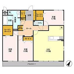 Royal East[3階]の間取り