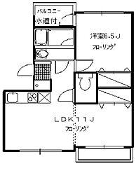 リバープレイス横浜[2階]の間取り