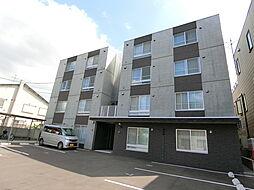 北海道札幌市豊平区月寒西三条6丁目の賃貸マンションの外観