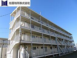 愛知県豊橋市大村町字五貫森の賃貸マンションの外観