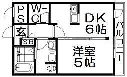 レオンズビル[8階]の間取り